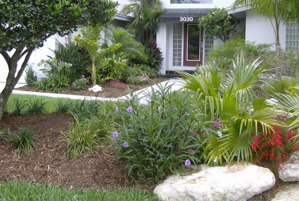 Florida front yard landscaping ideas quotes Florida landscape design ideas